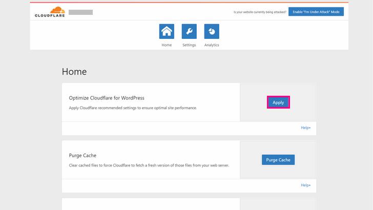 Optimizing Cloudflare for WordPress