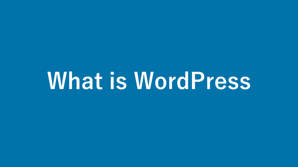What is WordPress? Guide for beginners