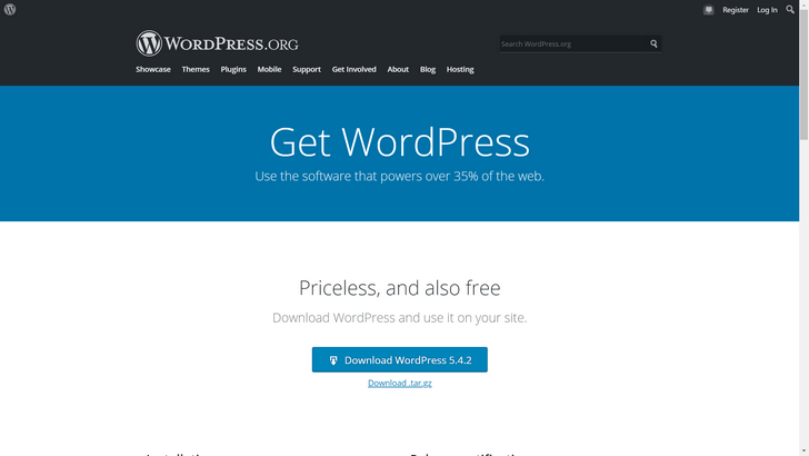 Download WordPress 5.4.2